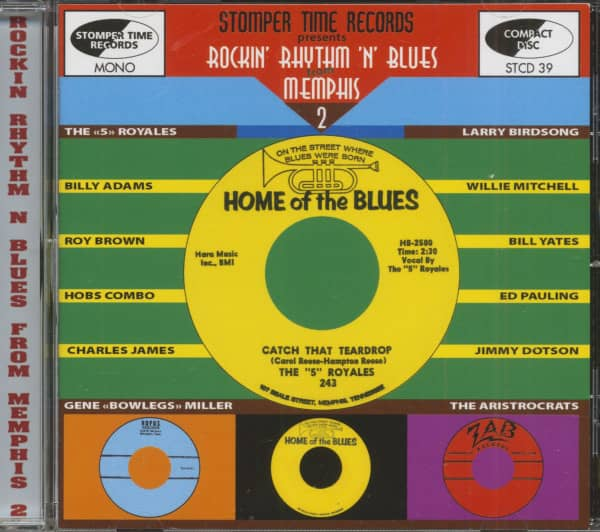 Rockin' Rhythm 'N' Blues From Memphis Vol.2 (CD)