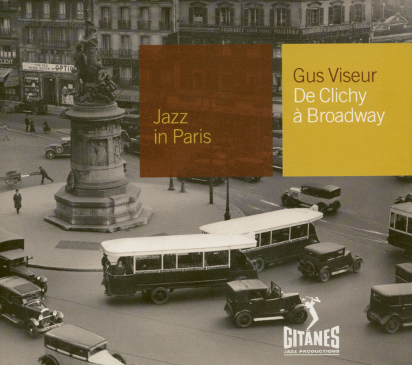 Jazz In Paris - De Clichy A Broadway (CD)