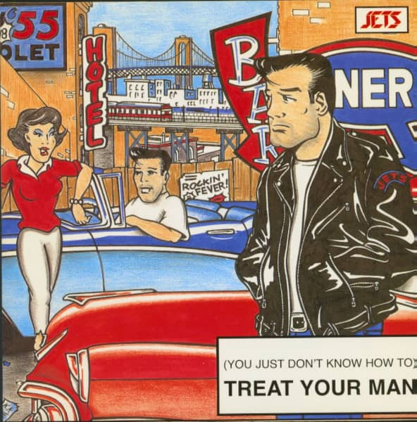 (You Just Don't Know How To) Treat Your Man (7inch EP, 45rpm, PS, SC)
