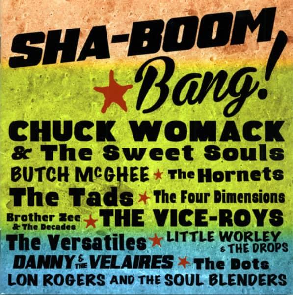 Sha-Boom Bang! - Ramco Records 1956-71 Vintage Arizona Doo Wop, Soul & Funk (CD)