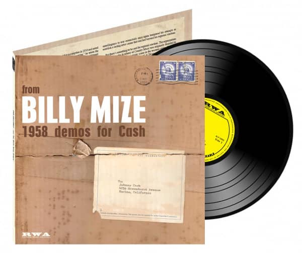 From Billy Mize 1958 Demos For Cash (10inch LP)