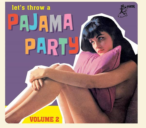 Let's Throw A Pajama Party Vol.2 (CD)