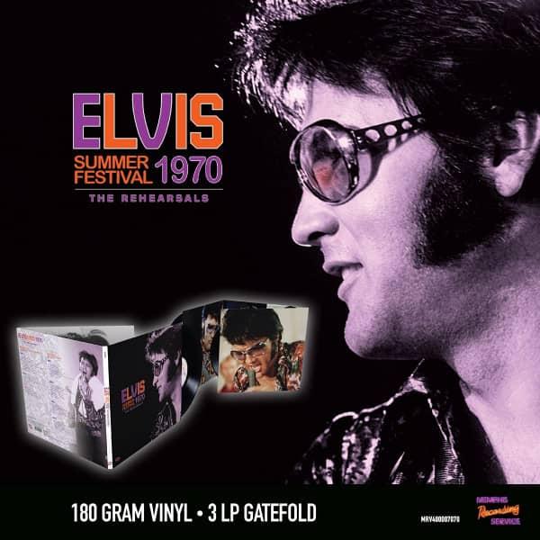 Summer Festival 1970 (3-LP, 180g, Clear Vinyl, Ltd.)