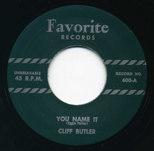 You Name It - Listen To Me 7inch, 45rpm