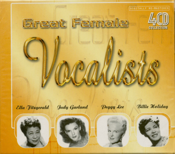 Great Female Vocalists (4-CD)