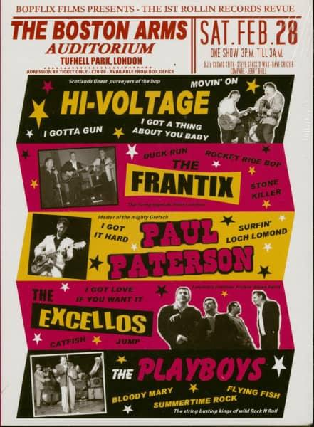 The 1st Rollin Records Revue (DVD)