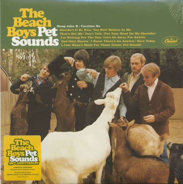 Pet Sounds - 40th Anniversary Edition (2-LP, Ltd.)
