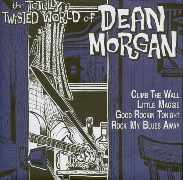 The Totally Twisted World Of Dean Morgan (7inch EP, 45rpm, PS)
