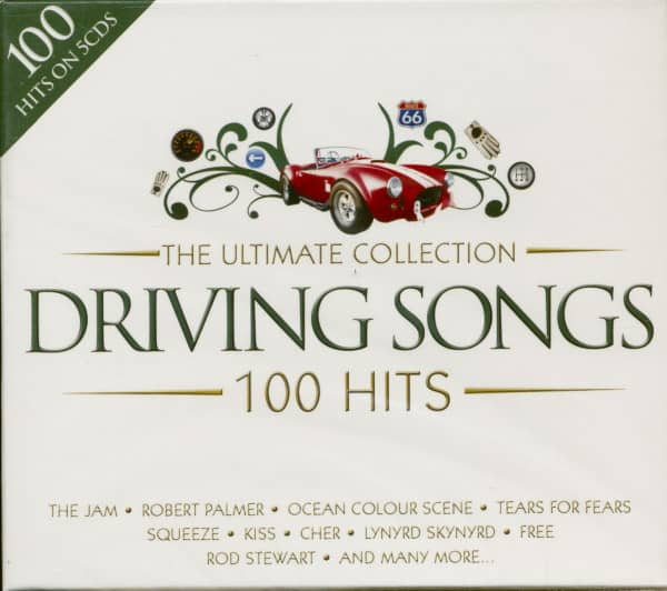 The Ultimate Collection - Driving Songs - 100 Hits (5-CD)