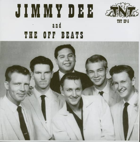 Jimmy Dee And The Off Beats (7inch, EP, 45rpm, PS)