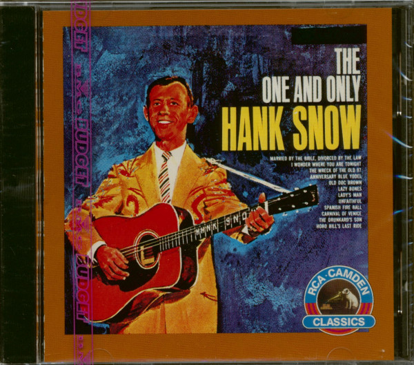 The One And Only Hank Snow (CD)