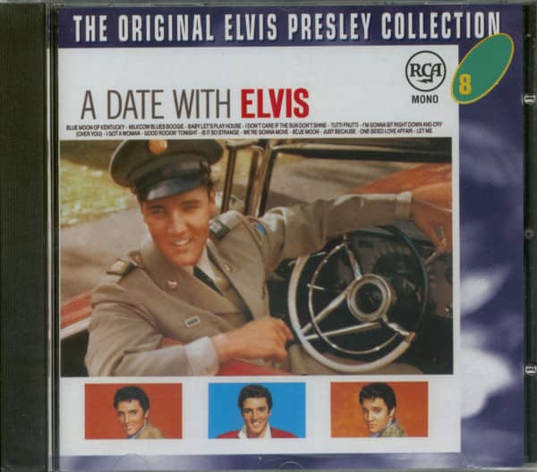 A Date With Elvis - The Original Collection #8 (CD)