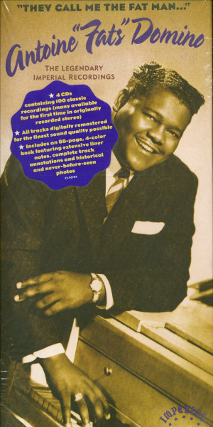 'They Call Me The Fat Man' Antoine 'Fats' Domino - The Legendary Imperial Masters (4-CD Box, Cut-Out