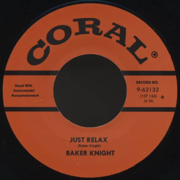 Just Relax - Hungry For Your Love 7inch, 45rpm
