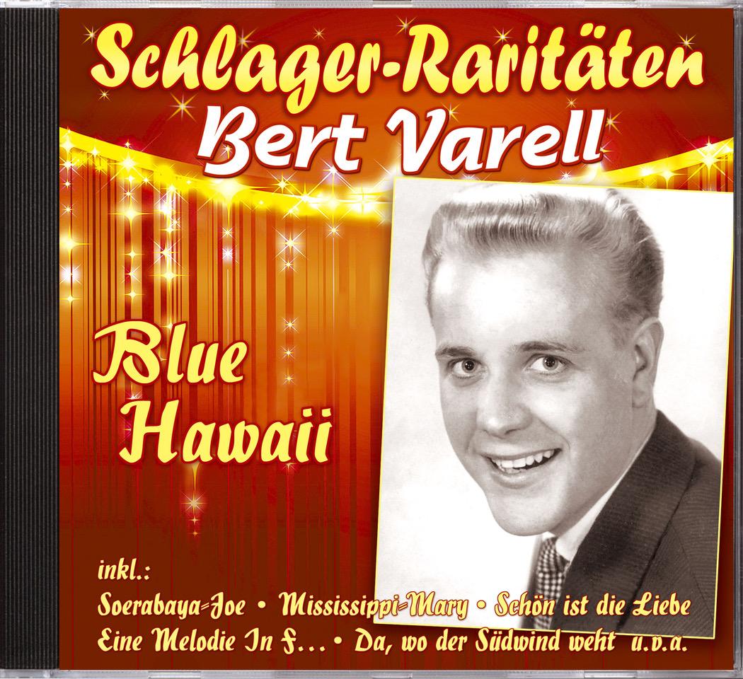Bert Varell Cd Blue Hawaii Cd Bear Family Records