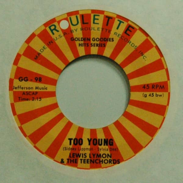 Too Young b-w I Found Out Why 7inch, 45rpm