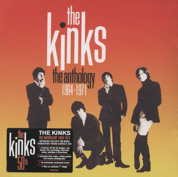 The Anthology 1964-1971 (5-CD + 45rpm Single)
