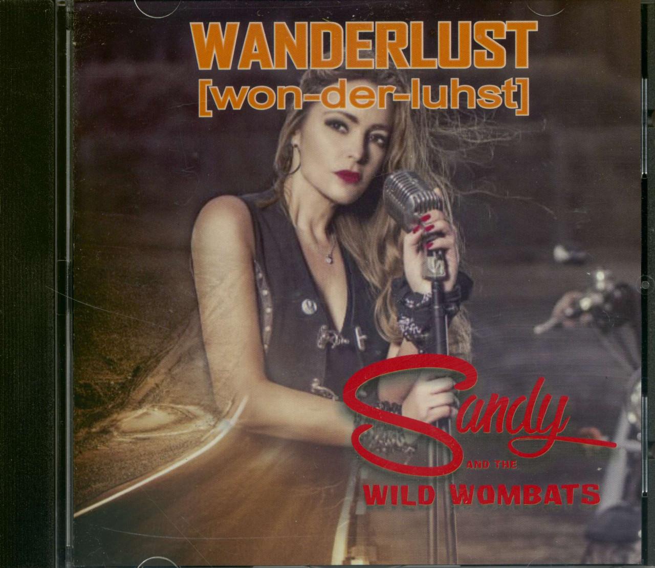 Sandy & The Wild Wombats - Wanderlust - won-der-luhst (CD)