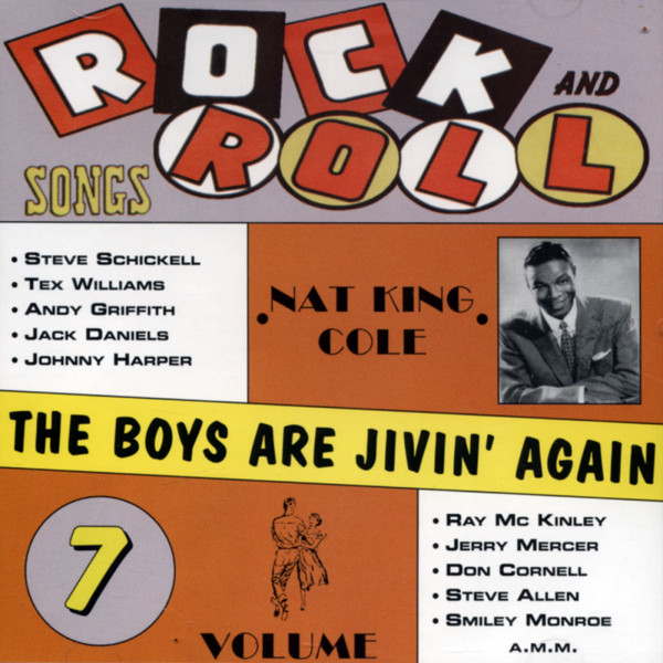 Rock & Roll Hits - Boys Jivin' Again Vol.7