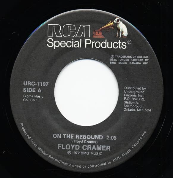 On The Rebound - Boo Boo Stick Beat 7inch, 45rpm