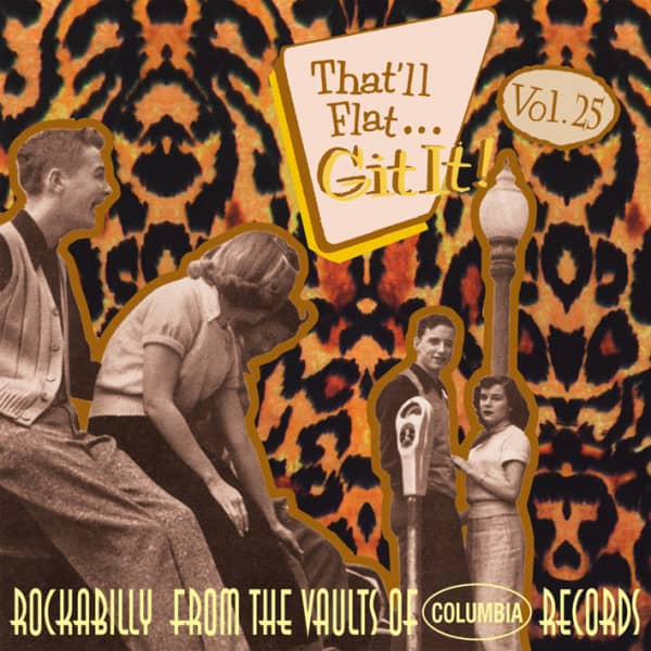 Vol.25 - Rockabilly From The Vaults Of Columbia Records (CD)