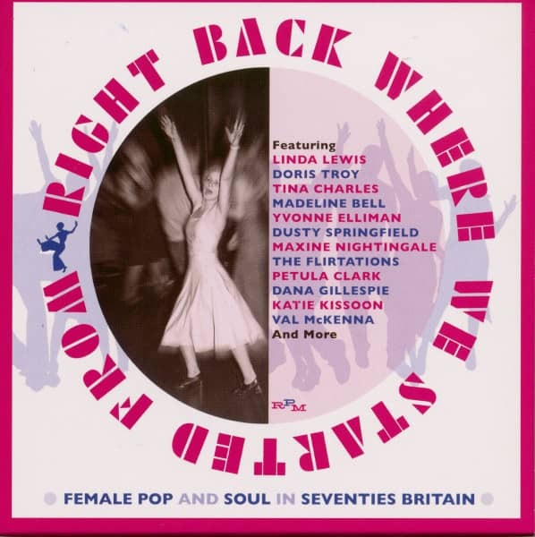 Right Back Where We Started From - Female Pop And Soul In Seventies Britain (3-CD)