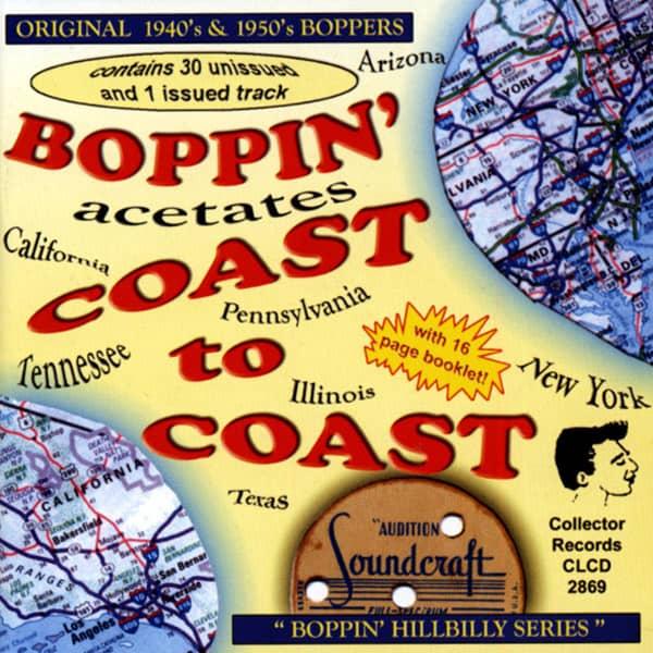 Boppin' Acetates - Coast To Coast