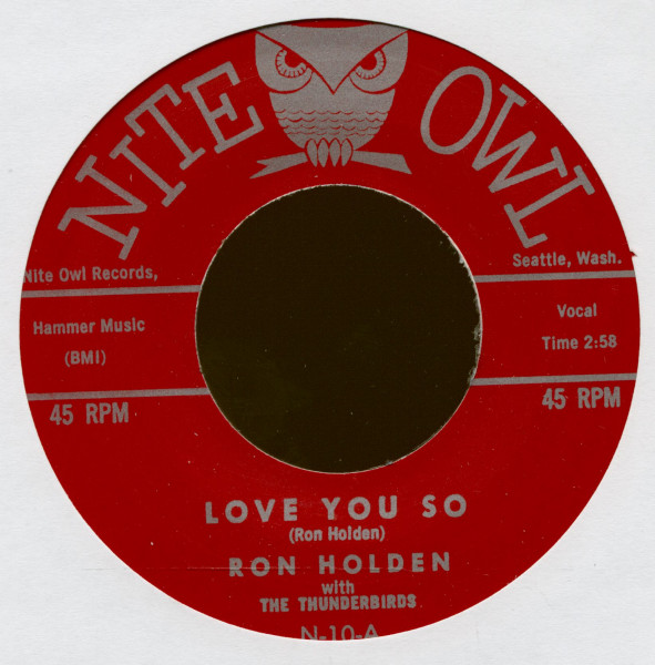 Love You So - My Babe (7inch, 45rpm)