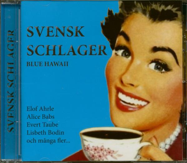 Svensk Schlager - Blue Hawaii (CD)