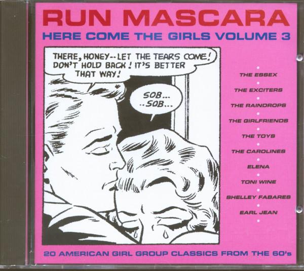 Run Mascara - Here Come The Girls Vol.3 (CD)