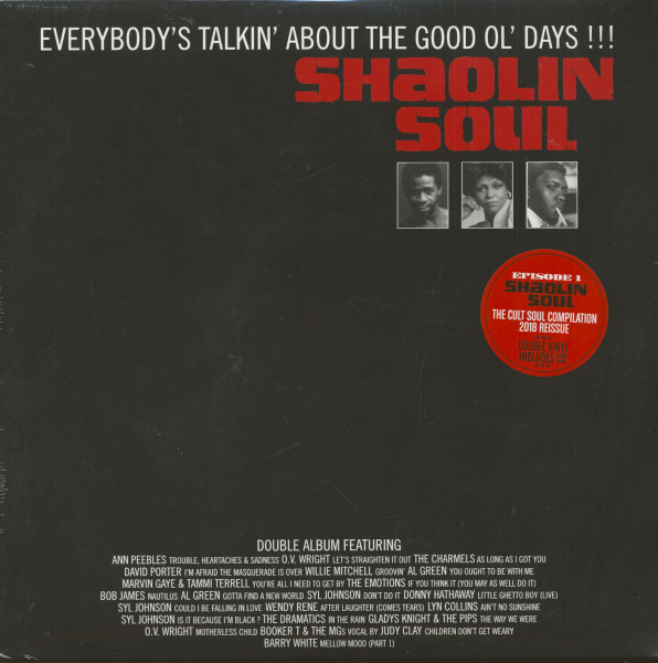 Shaolin Soul - Episode 1 (2-LP+CD)