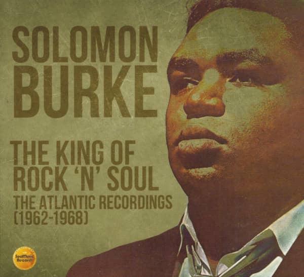 King Of Rock 'N' Roll Soul - The Atlantic Recordings 1962-1968 (3-CD)