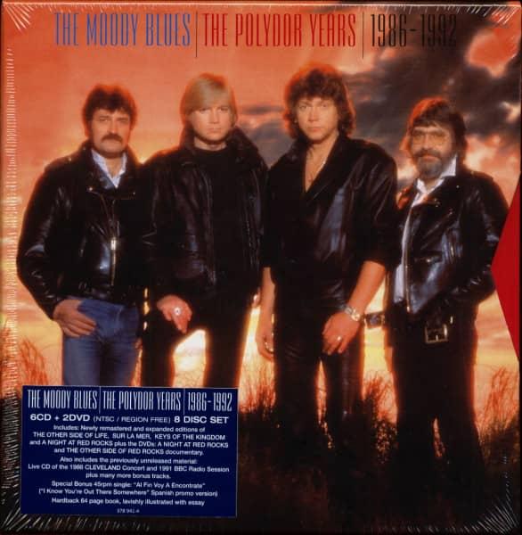 The Polydor Years 1986-1992 (5-CD & 2-DVD Box Set, Ltd.)