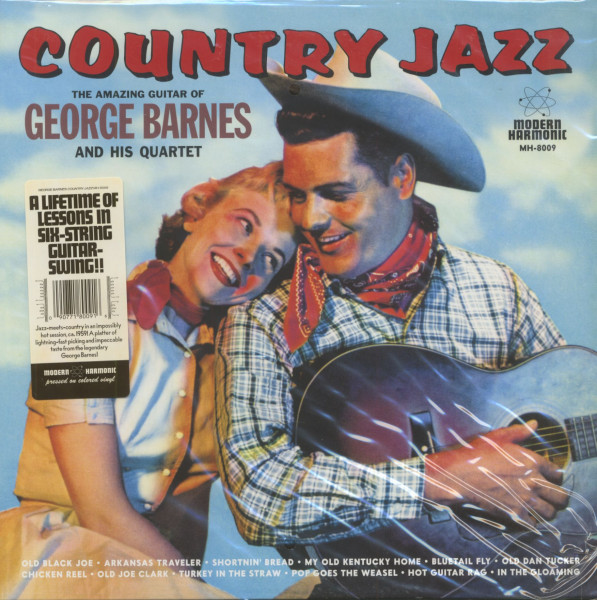 Country Jazz (LP, Color Vinyl)
