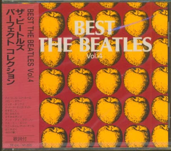 Best - The Beatles, Vol.4 (CD, Japan)