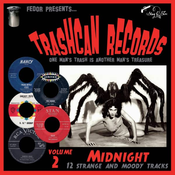 Trashcan Records Vol.2 - Midnight (LP, 10inch)