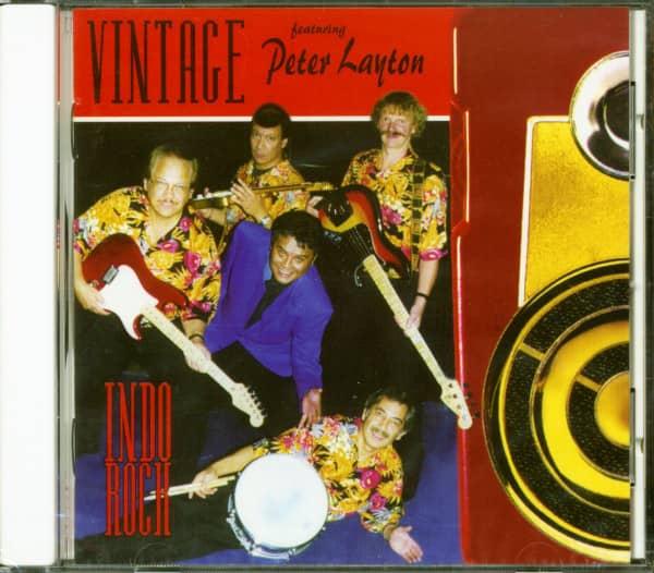 Vintage Indo Rock - Featuring Peter Layton (CD)
