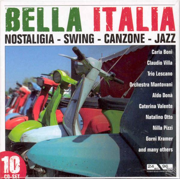 Bella Italia 10-CD
