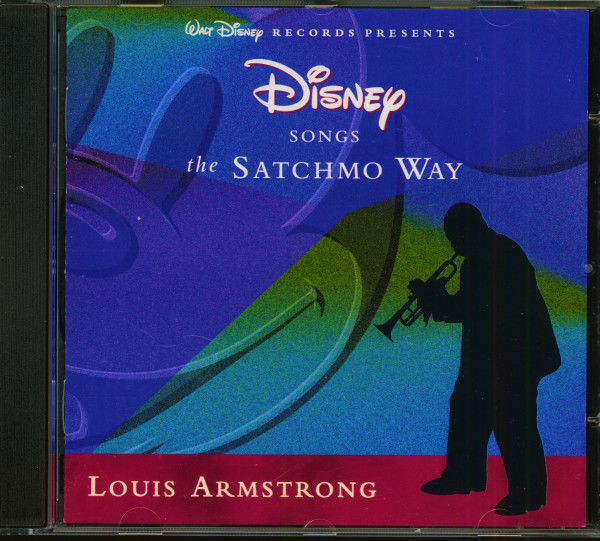 Walt Disney Presents - Disney Songs The Satchmo Way (CD)