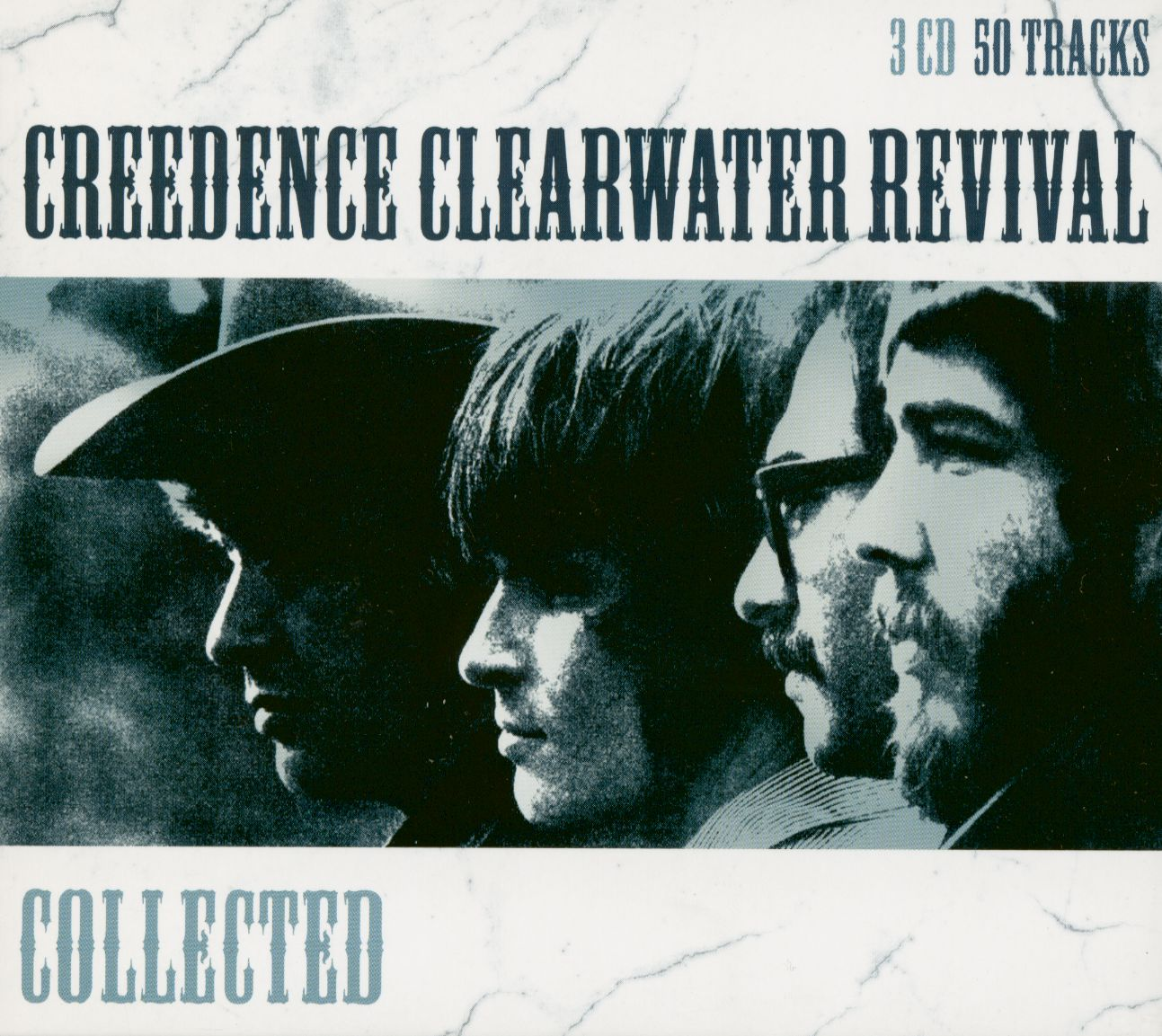 Creedence Clearwater Revival CD Collected   Ultimate 20 CD   Bear Family  Records