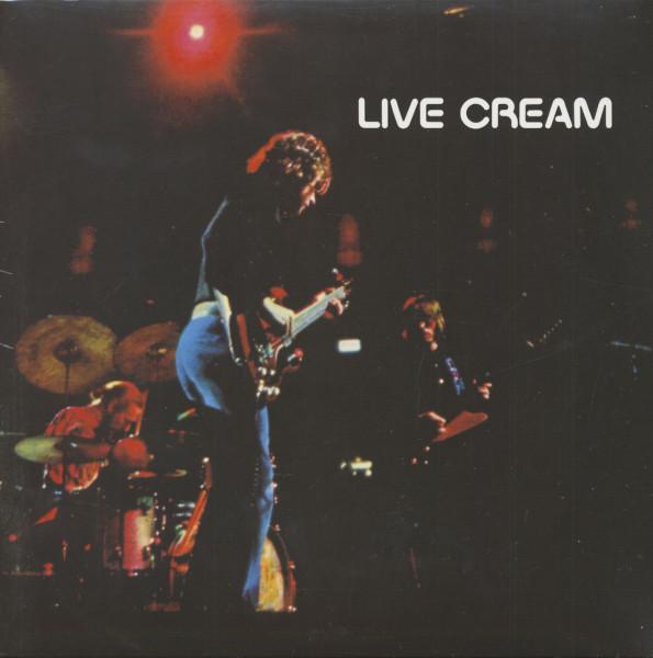 Live Cream (LP, 180g Vinyl)