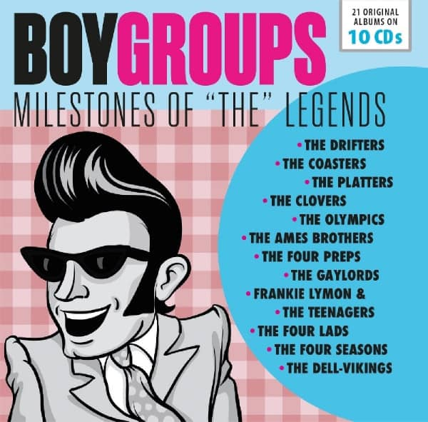 Boygroups: Milestones Of The Legends (10-CD)