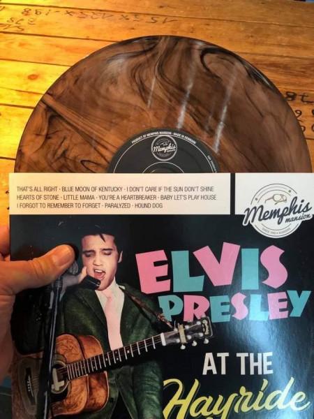 Elvis Presley At The Hayride - Live 1954-1956 (LP, 10inch, Cobber Swirl, Ltd.)