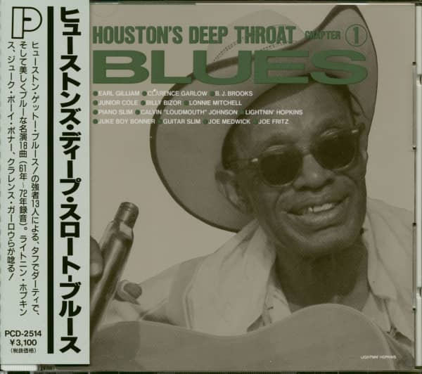 Houston' Deep Throat Blues - Chapter 1 (CD, Japan)