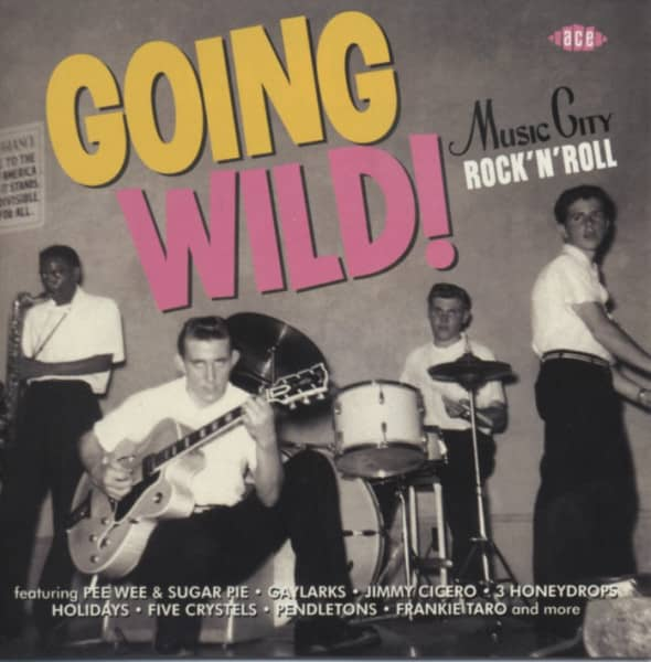 Going Wild - Music City Rock & Roll 1957-61
