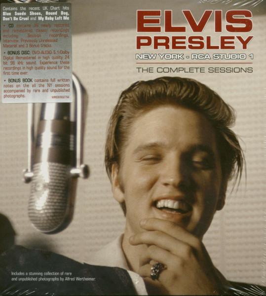 New York RCA Studio 1 - Book, DVD & CD