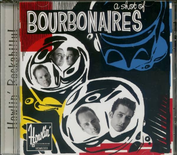 A Shot Of Bourbonaires (CD)