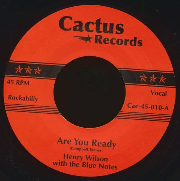 Henry Wilson With The Blue Notes - Vernon Claud (7inch, 45rpm)