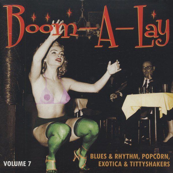 Boom-A-Lay - Exotic Blues & Rhythm Vol.7 (25cm Vinyl LP)