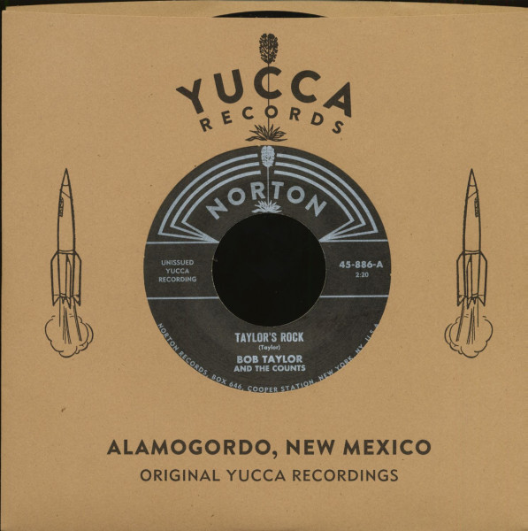 Yucca Records Jukebox Series (7inch, 45rpm, Series Sleeve)